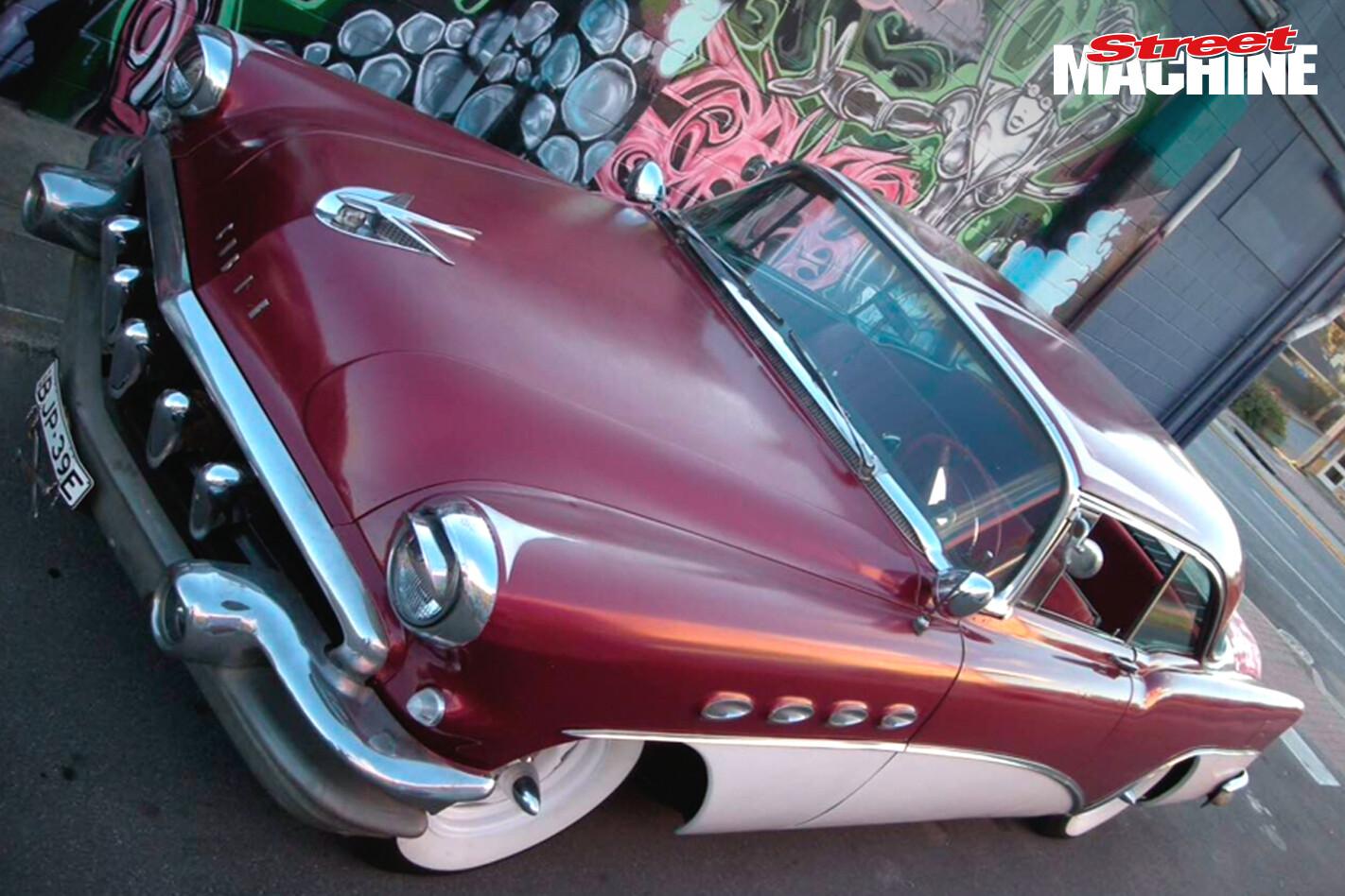 56 Buick Super Pillarless Coupe