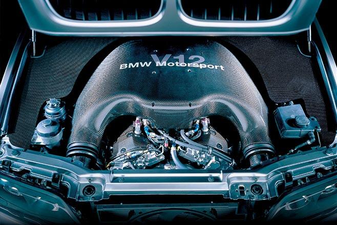 BMW X5 LeMans V12 engine
