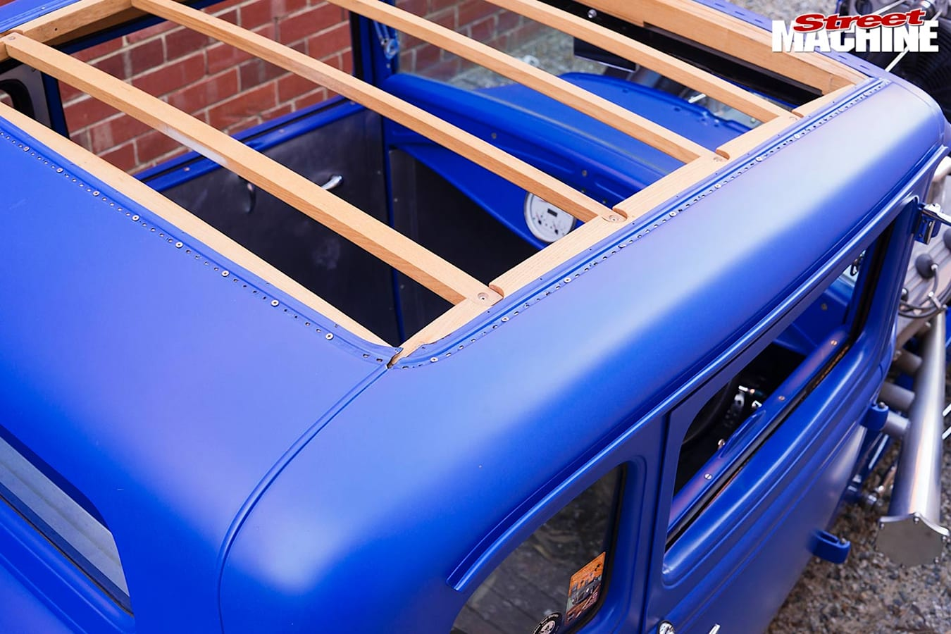 1930 Ford coupe roof