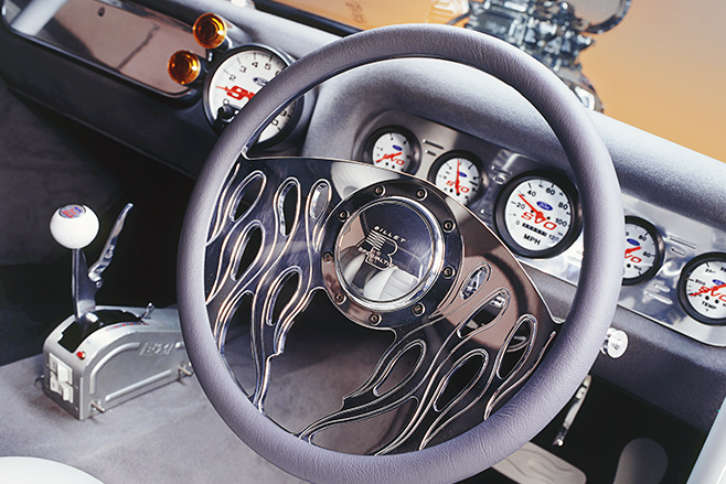 Ford Mustang coupe steering wheel
