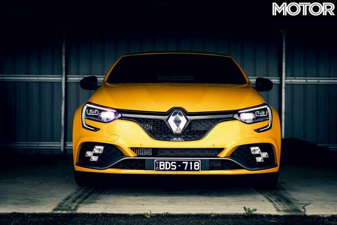 Renault Megane RS 300 Trophy Australian Drive Front Jpg