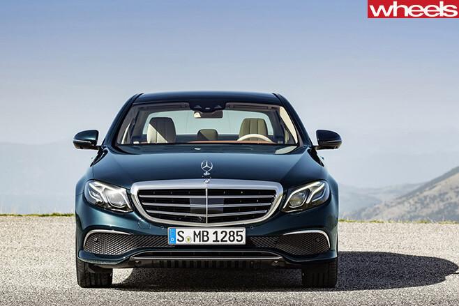 2016-Mercedes -Benz -E-Class -front -static