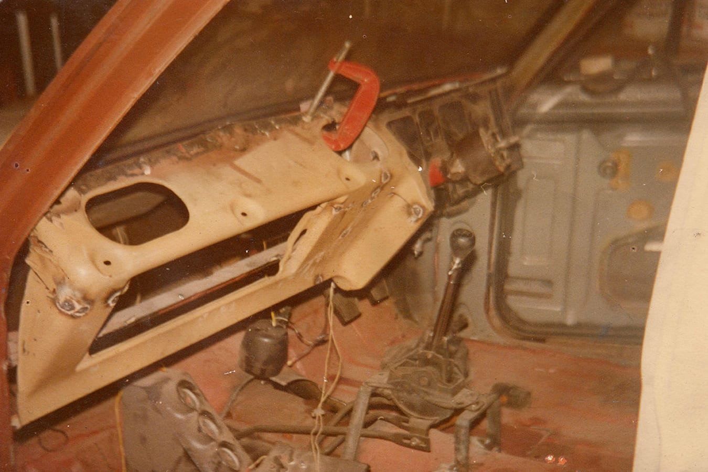 Holden HD interior rebuild