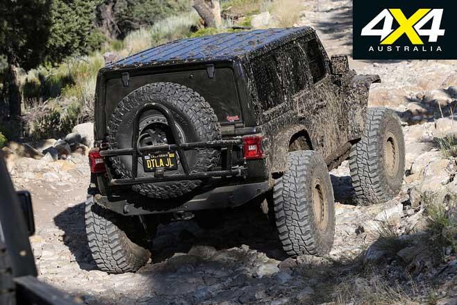 Custom Jeep Wrangler Rear Jpg