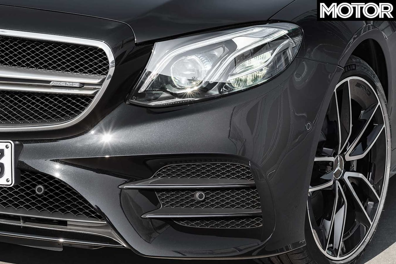 2019 Mercedes AMG E 53 Front Wheel Front Grille Jpg