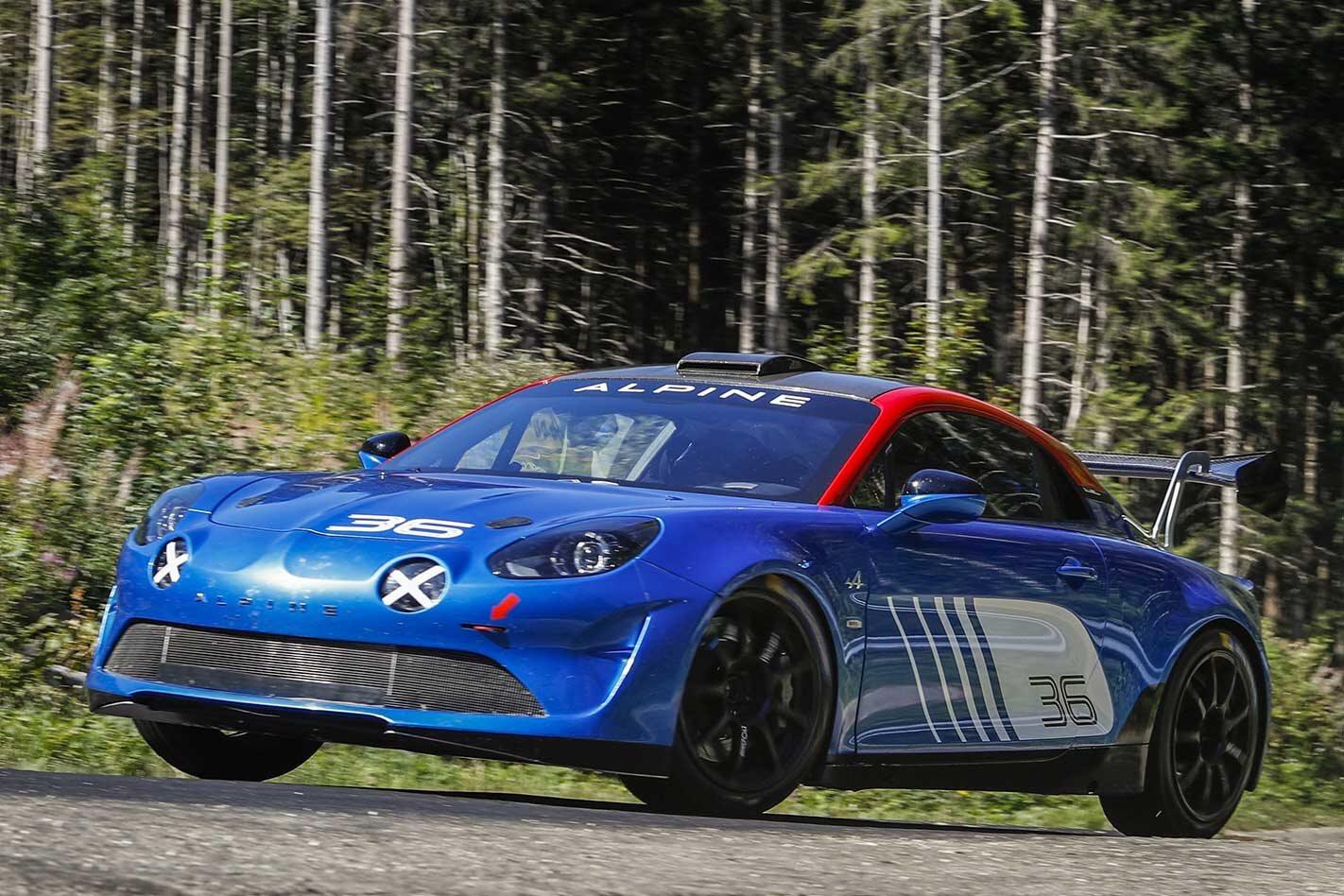 Alpine A110 Rally revealed