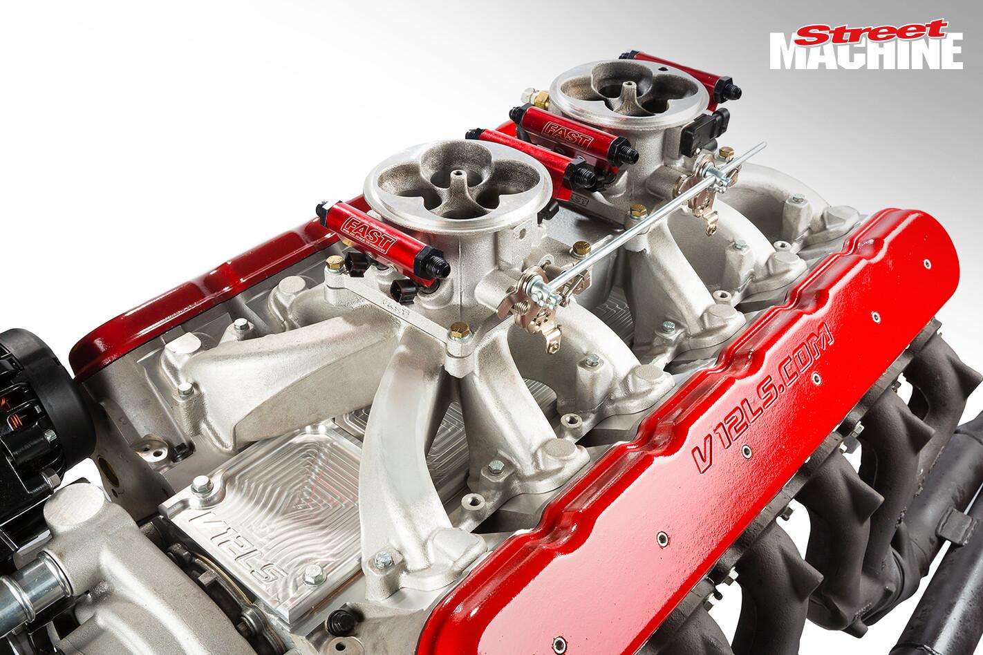 V12 LS Engine