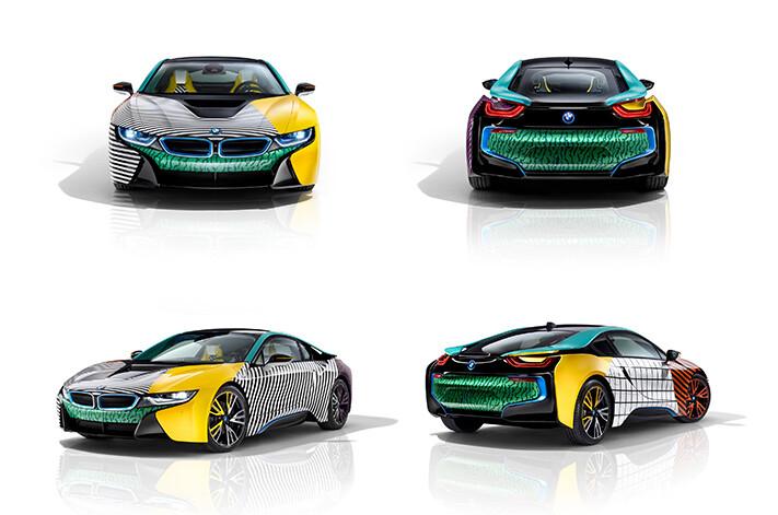 BMW i3 i8 MemphisStyle special editions