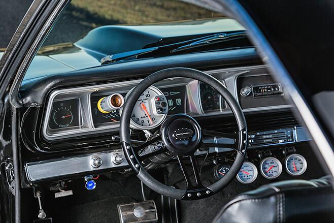 chev impala dash