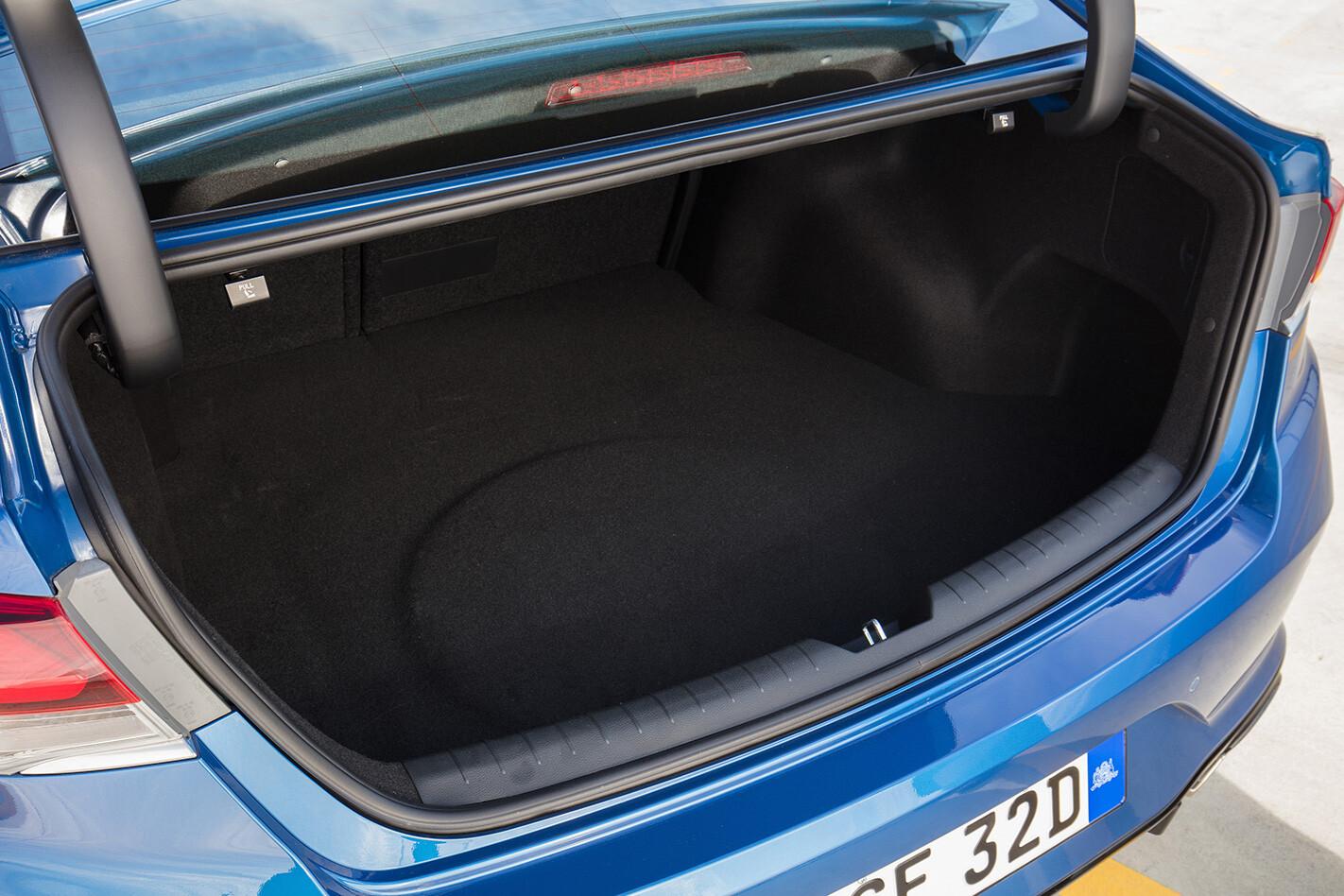 2018 Hyundai Sonata boot