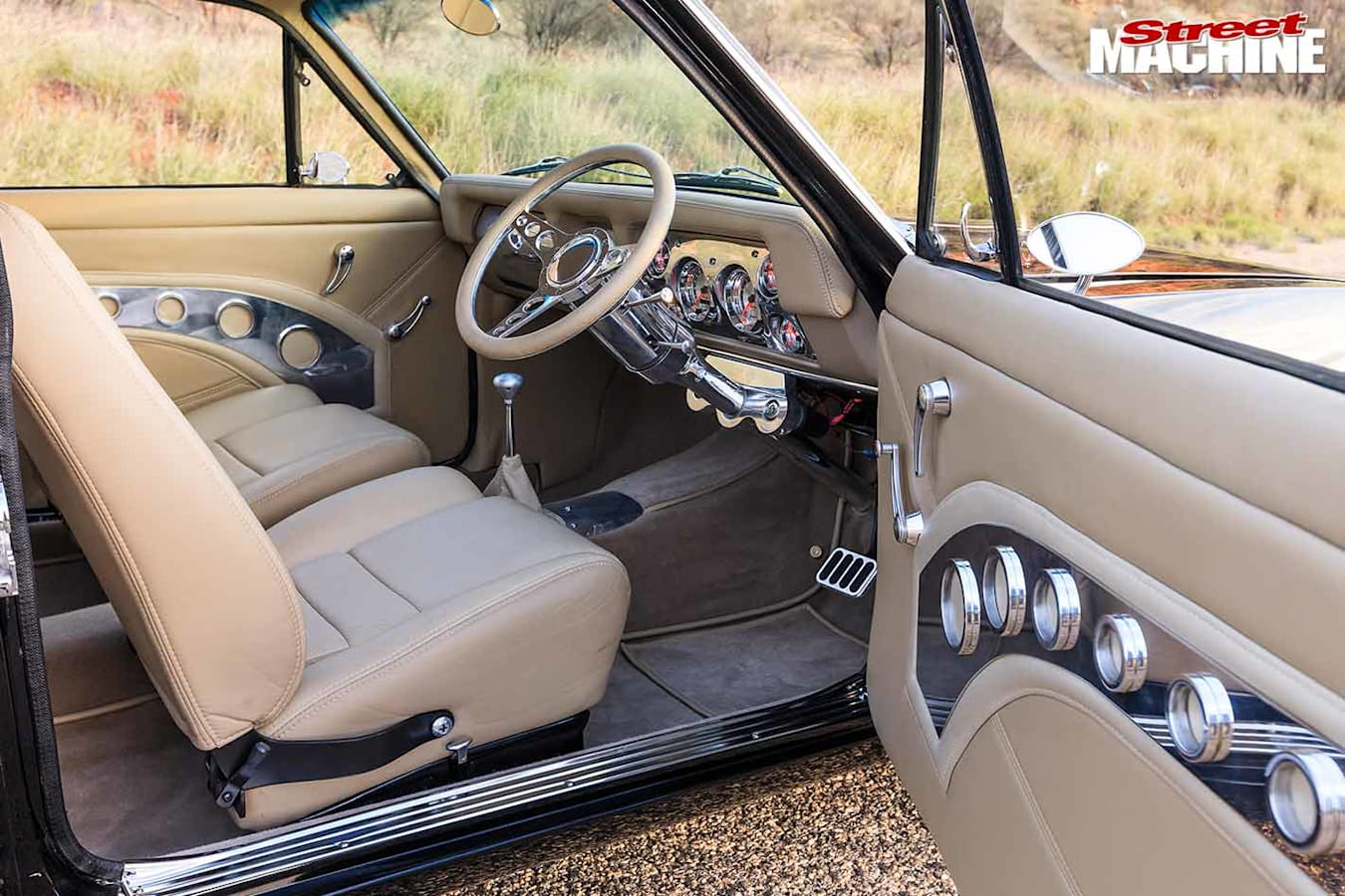 Holden Torana interior