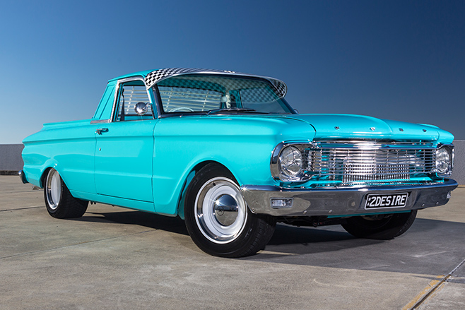 Ford XP ute front angle