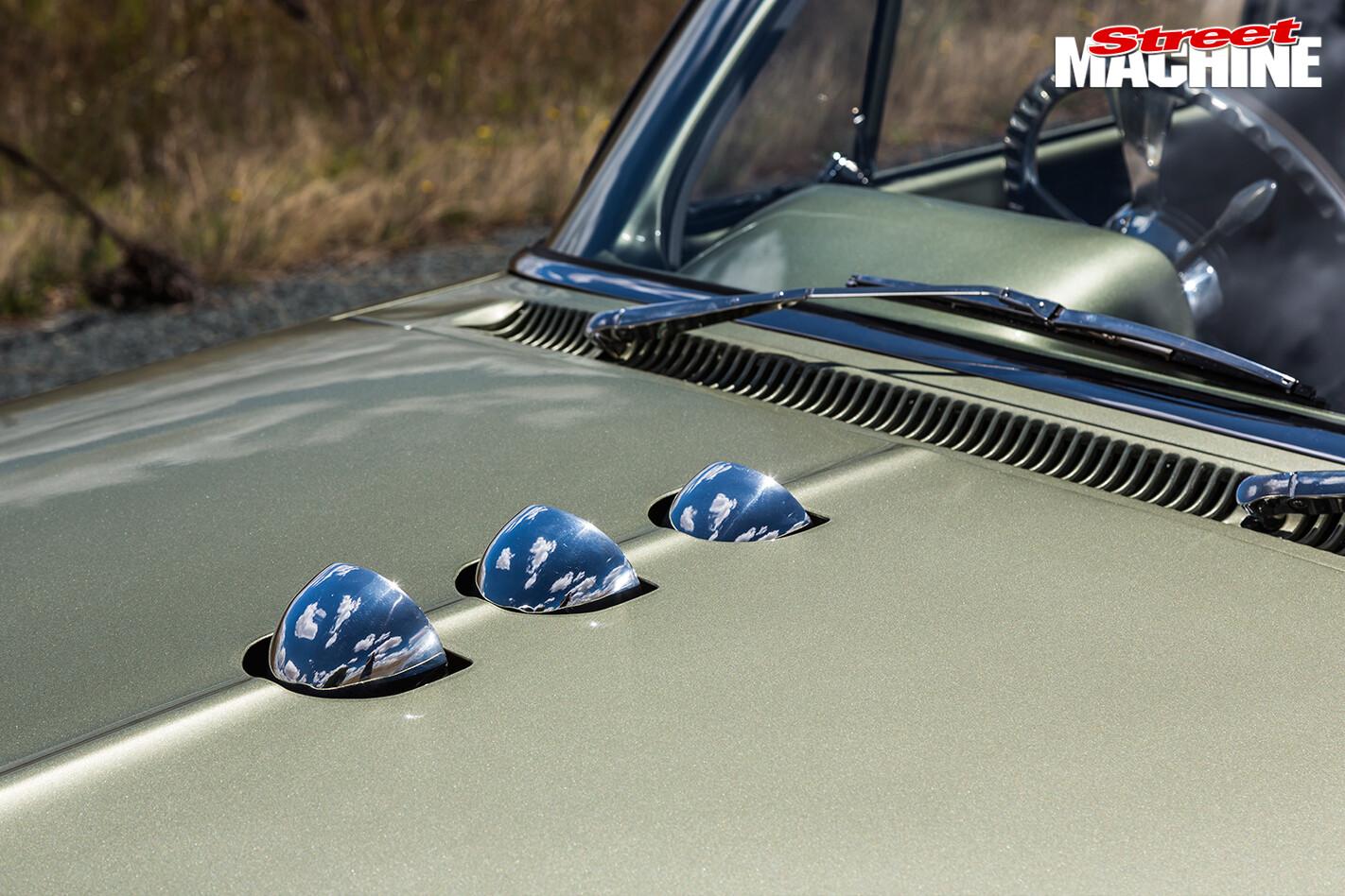 Holden -EH-Panel -Van -two -barrel -carbs -bonnet