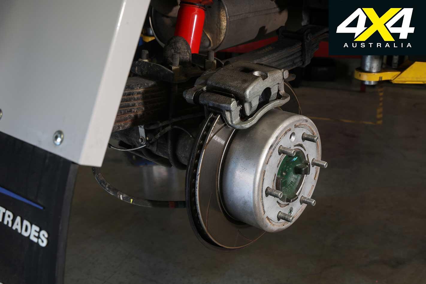 Ford Ranger Rear Disc Brakes Jpg