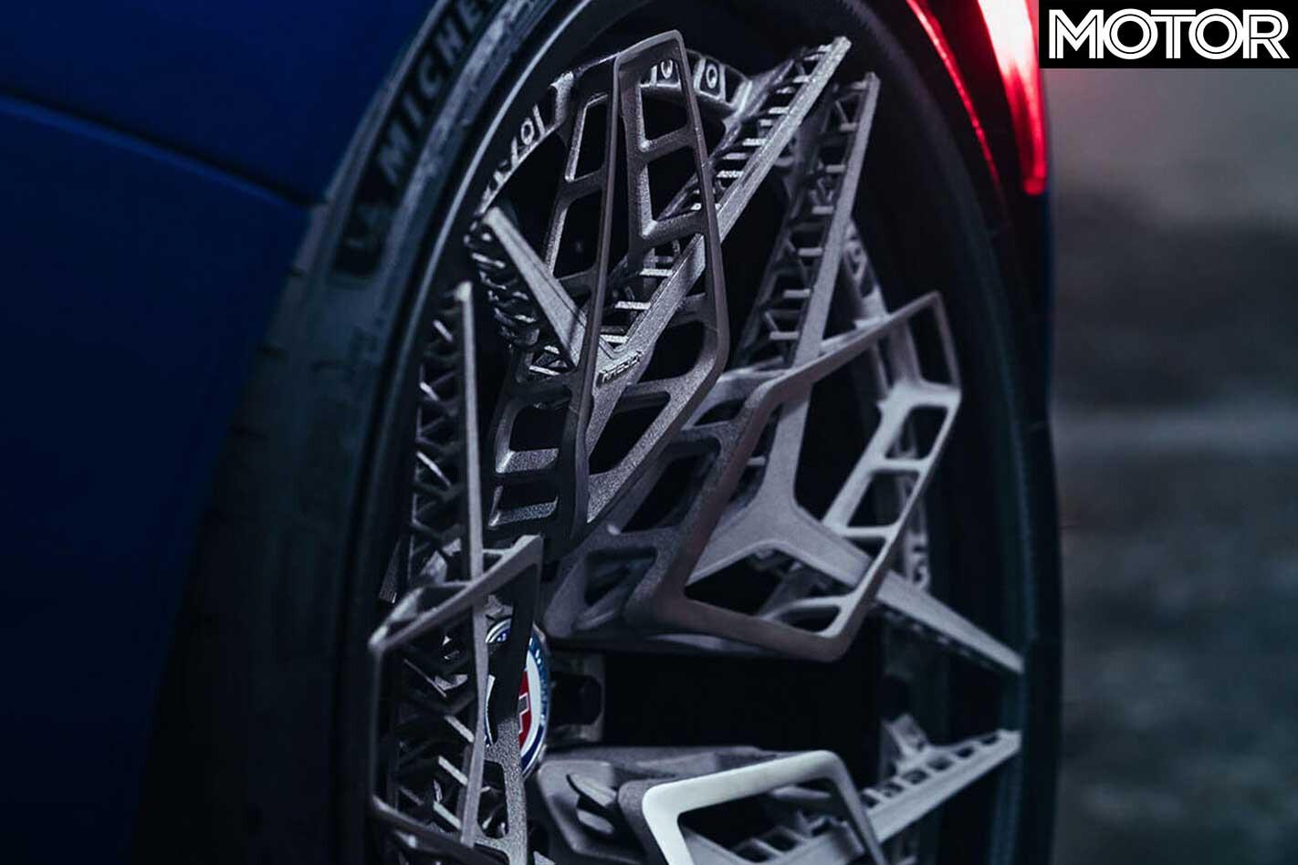 HRE 3 D Printed Titanium Wheel Close Up Jpg