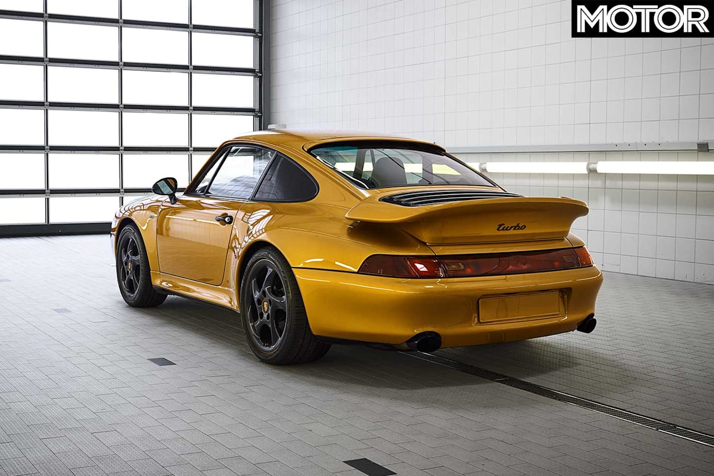 Rebuilt Porsche 993 911 Turbo Rear Jpg