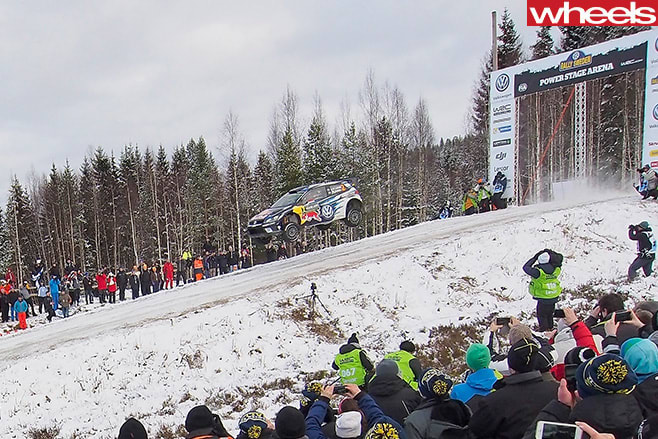 Latvala -Anttila -Rally -Sweden -racing