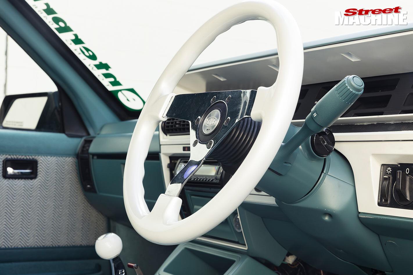 Holden VK Calais SS Group A replica steering wheel