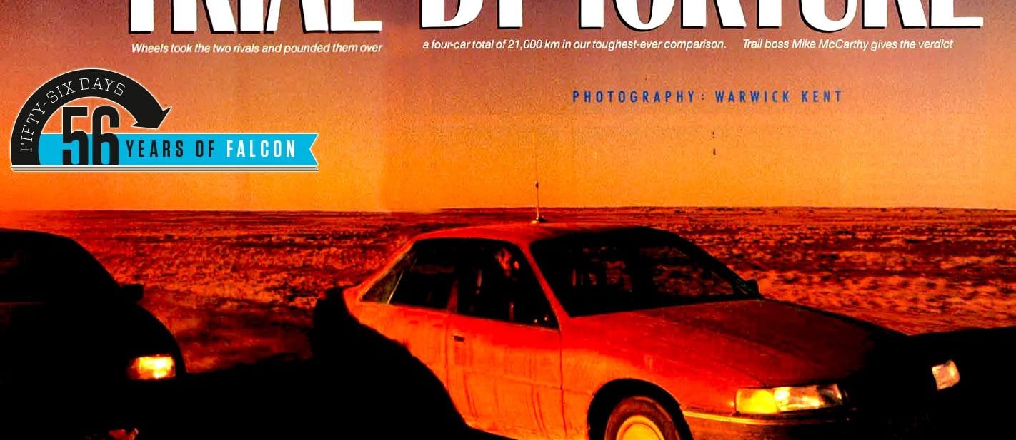 1988 Ford EA 26 Falcon and Holden VN Commodore