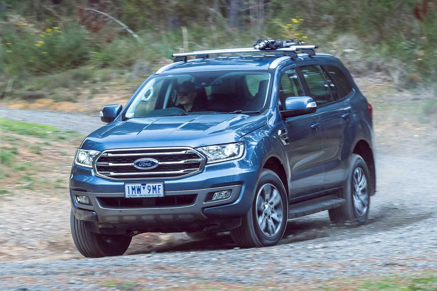 Ford Everest range standard Autonomous Emergency Braking