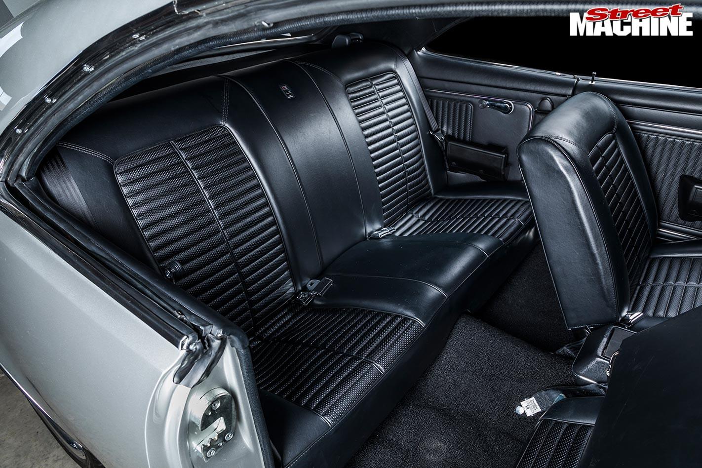 Holden HK Monaro rear seats