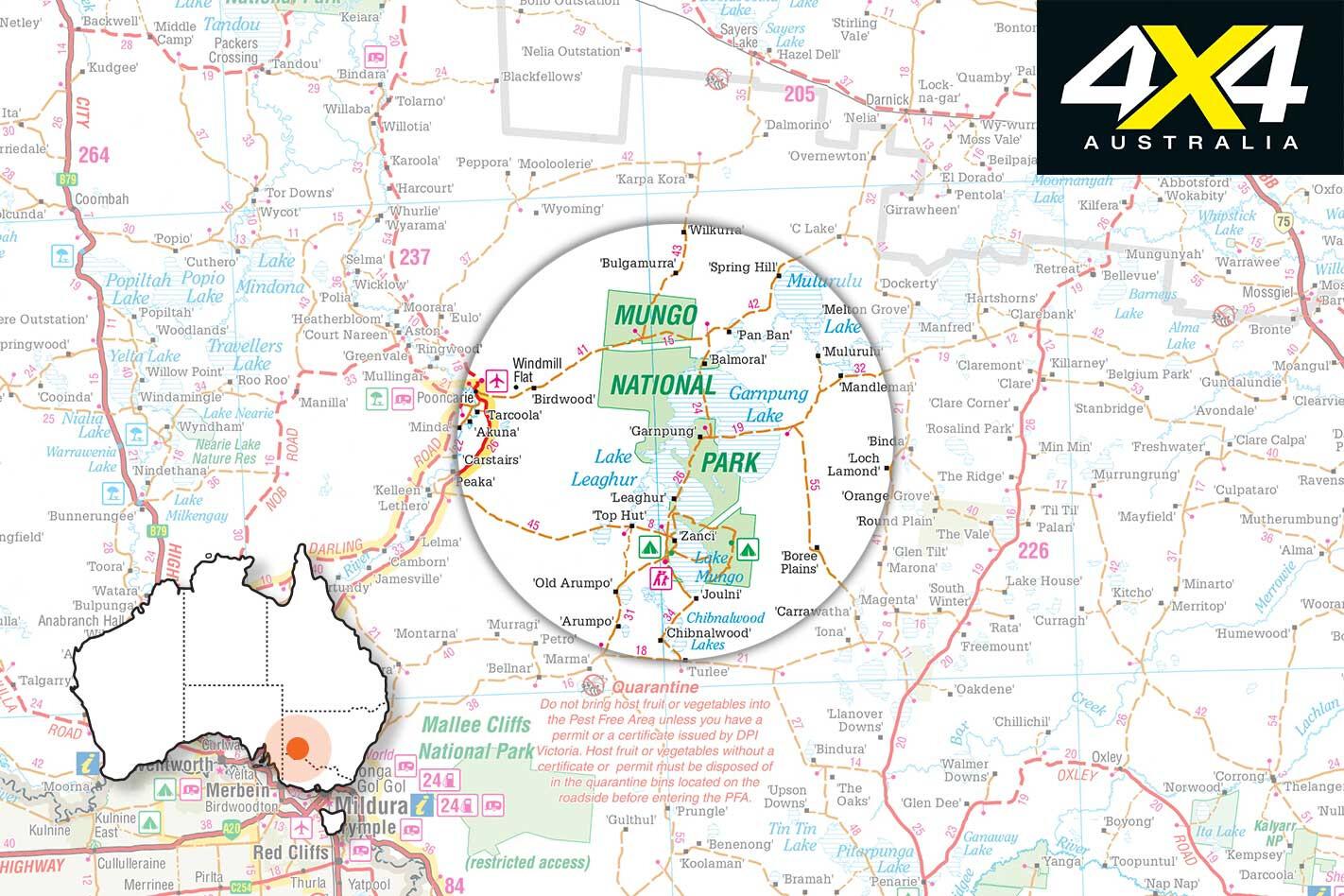 Gallery Mungo National Park Location Map Jpg