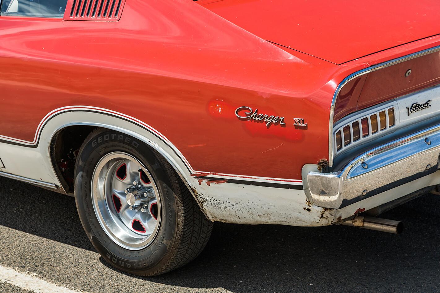 Chrysler VJ Valiant Charger rear quarter