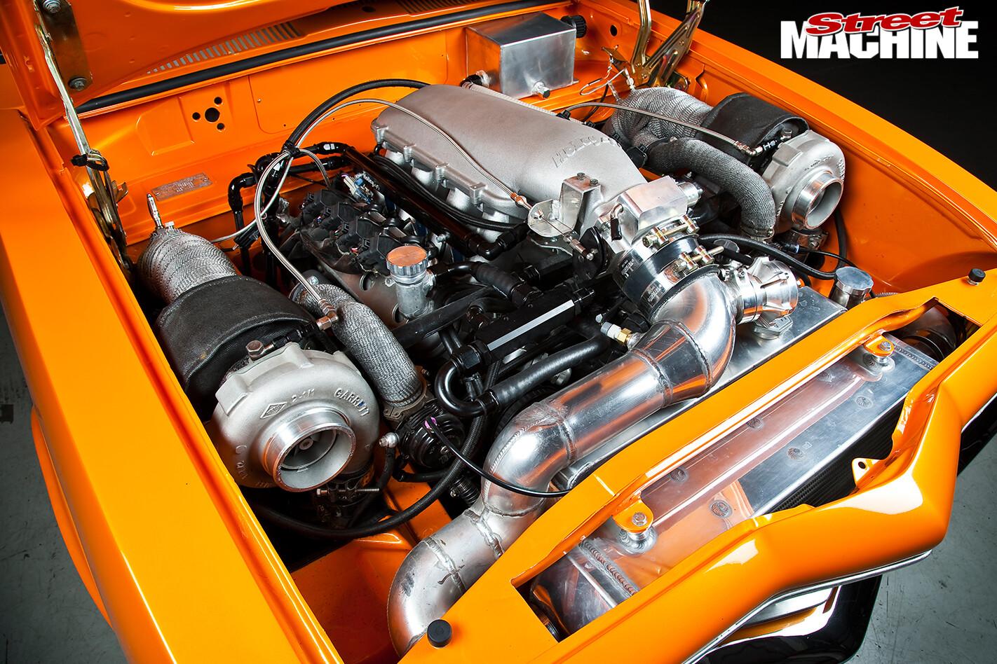 Holden -LC-Torana -engine