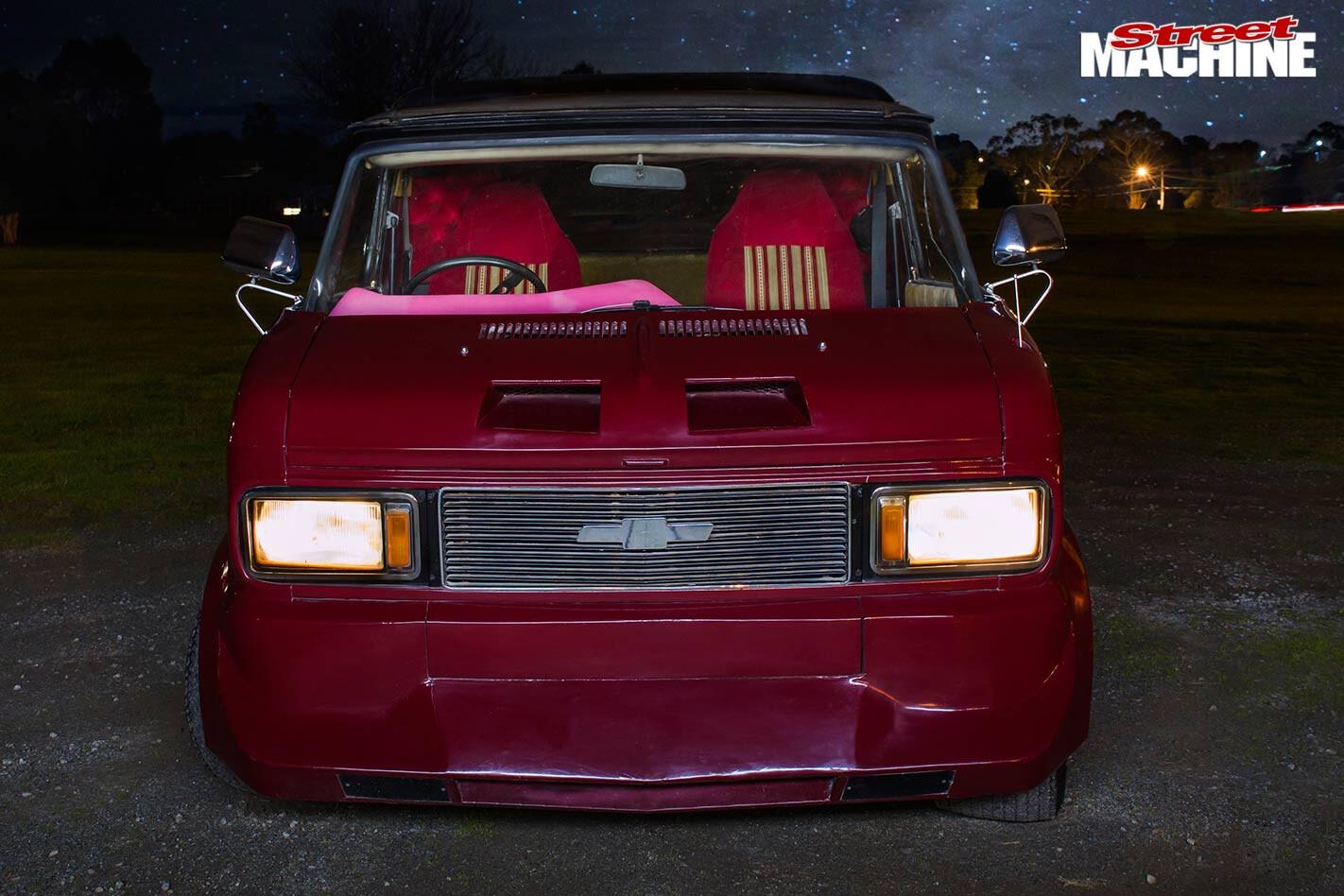 Bedford Van front