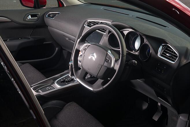 Citroen -c 4-interior