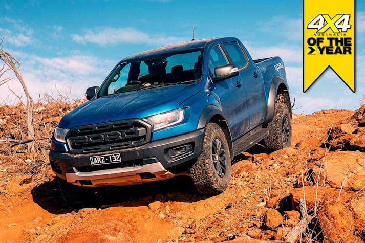 Ford Ranger Raptor review 4x4 of the Year 2019