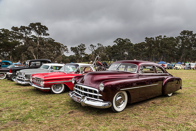 1949 Cadillac-grille on 1951 Chevy