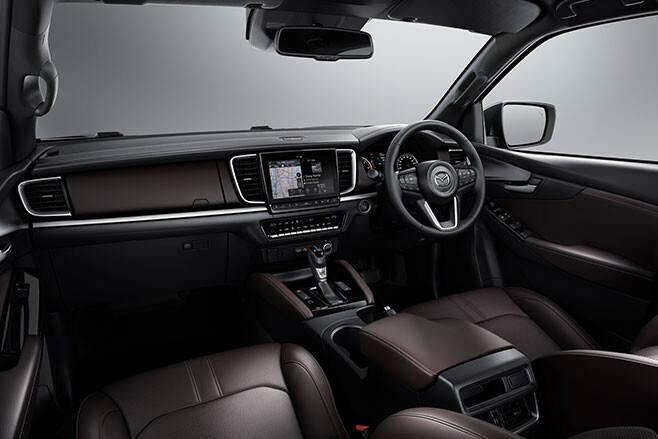 2021 Mazda BT-50 interior