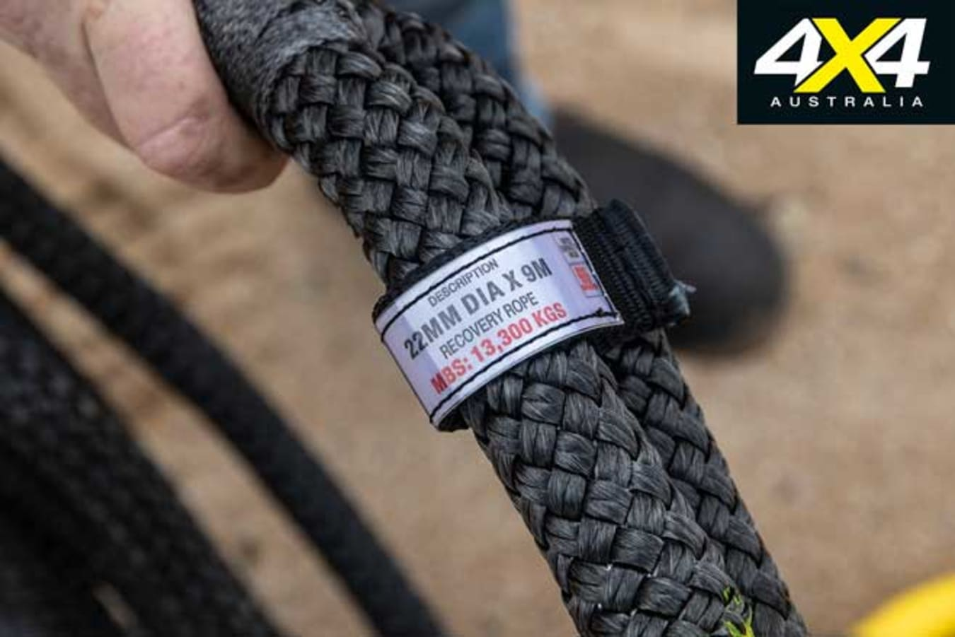 4 X 4 Kinetic Recovery Ropes Load Rating Jpg