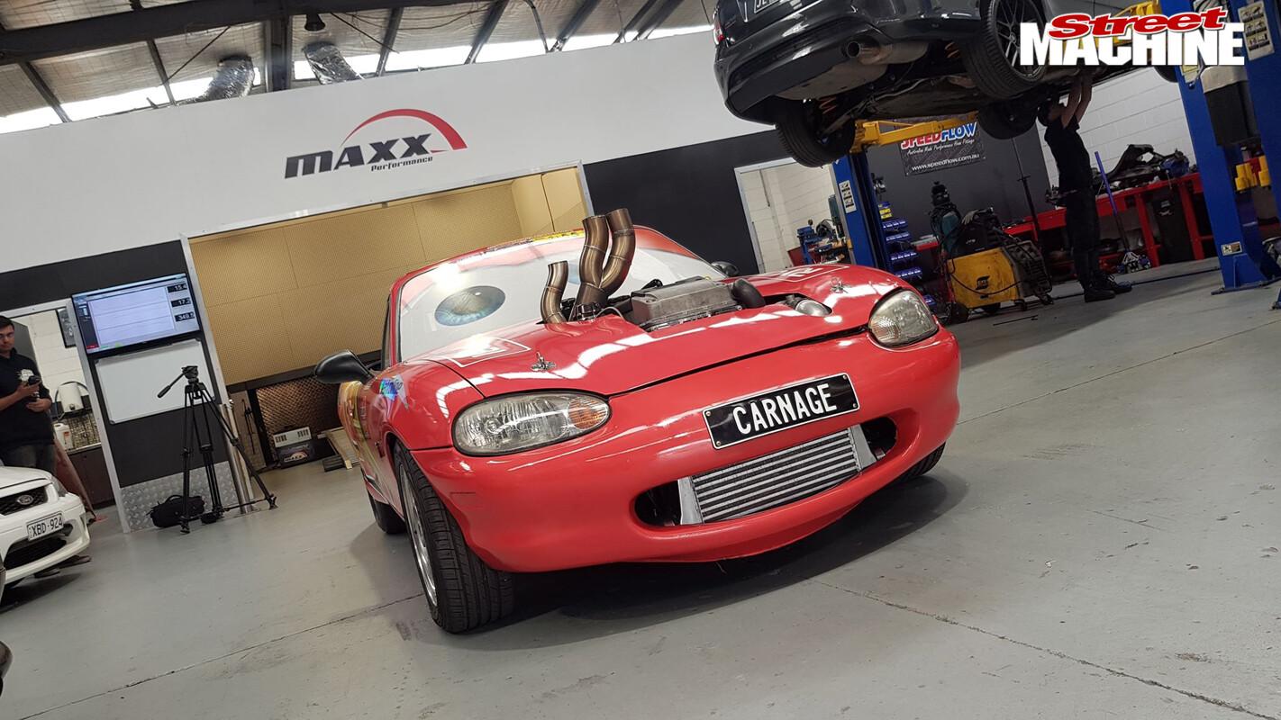 Barra MX 5 Maxx Performance Front Jpg