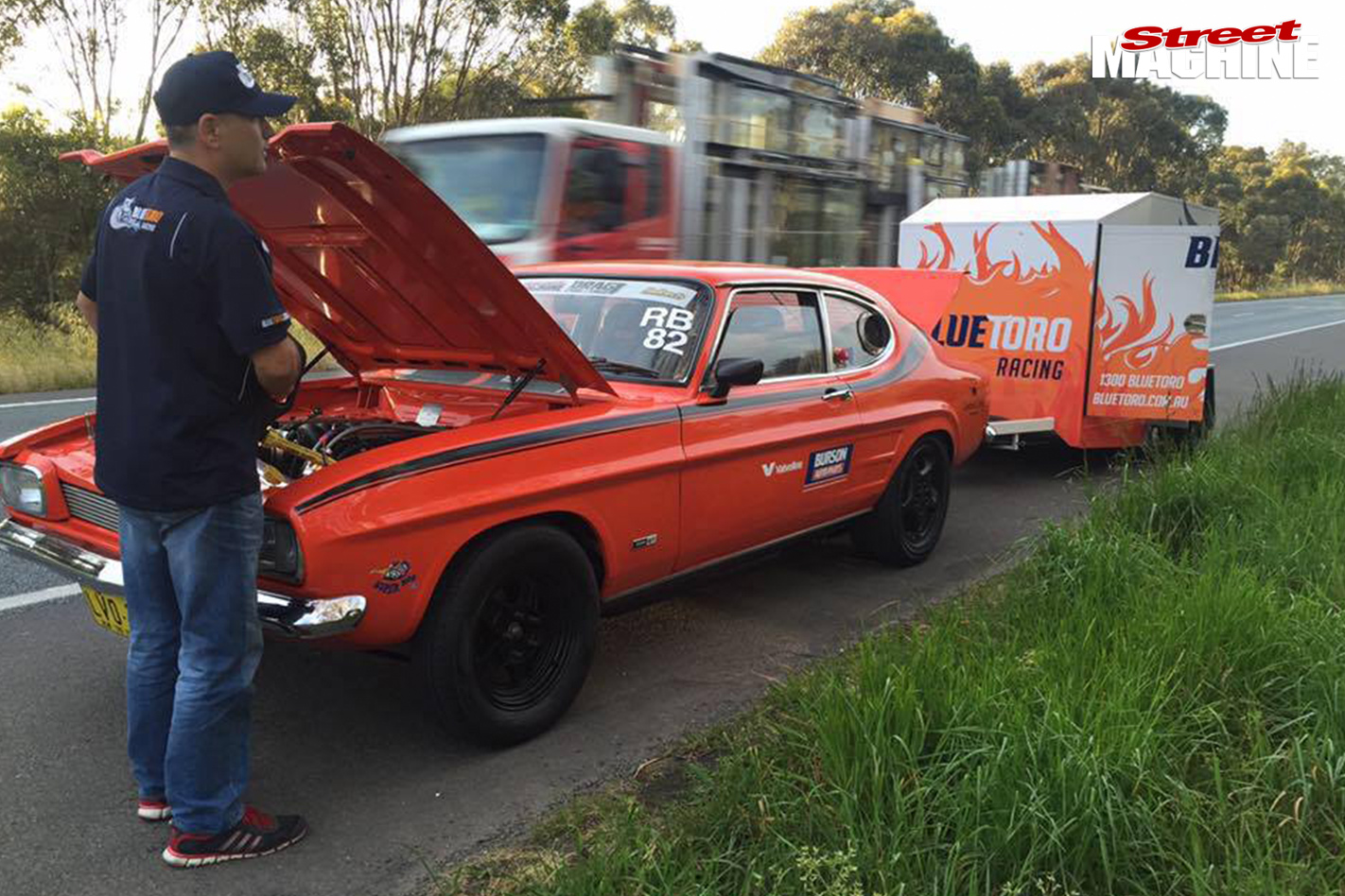 TURBO-LS-FORD-CAPRI-AND-TWIN-TURBO-LS-MITSUBISHI-EXPRESS-VAN-AT-DRAG-CHALLENGE-engine