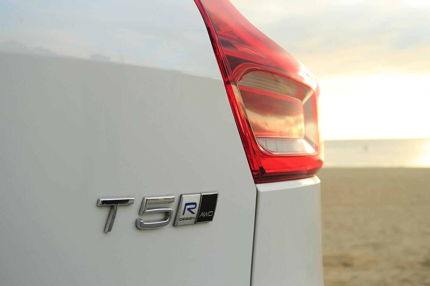Volvo Xc 40 Rear Badge Detail Jpg