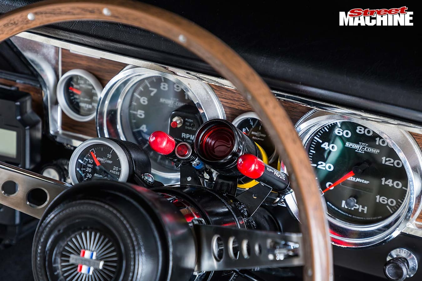 Ford XR GT Falcon gauges