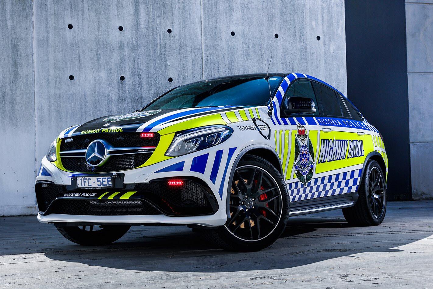 Mercedes Benz GLE 63 Victoria Police Suv Jpg