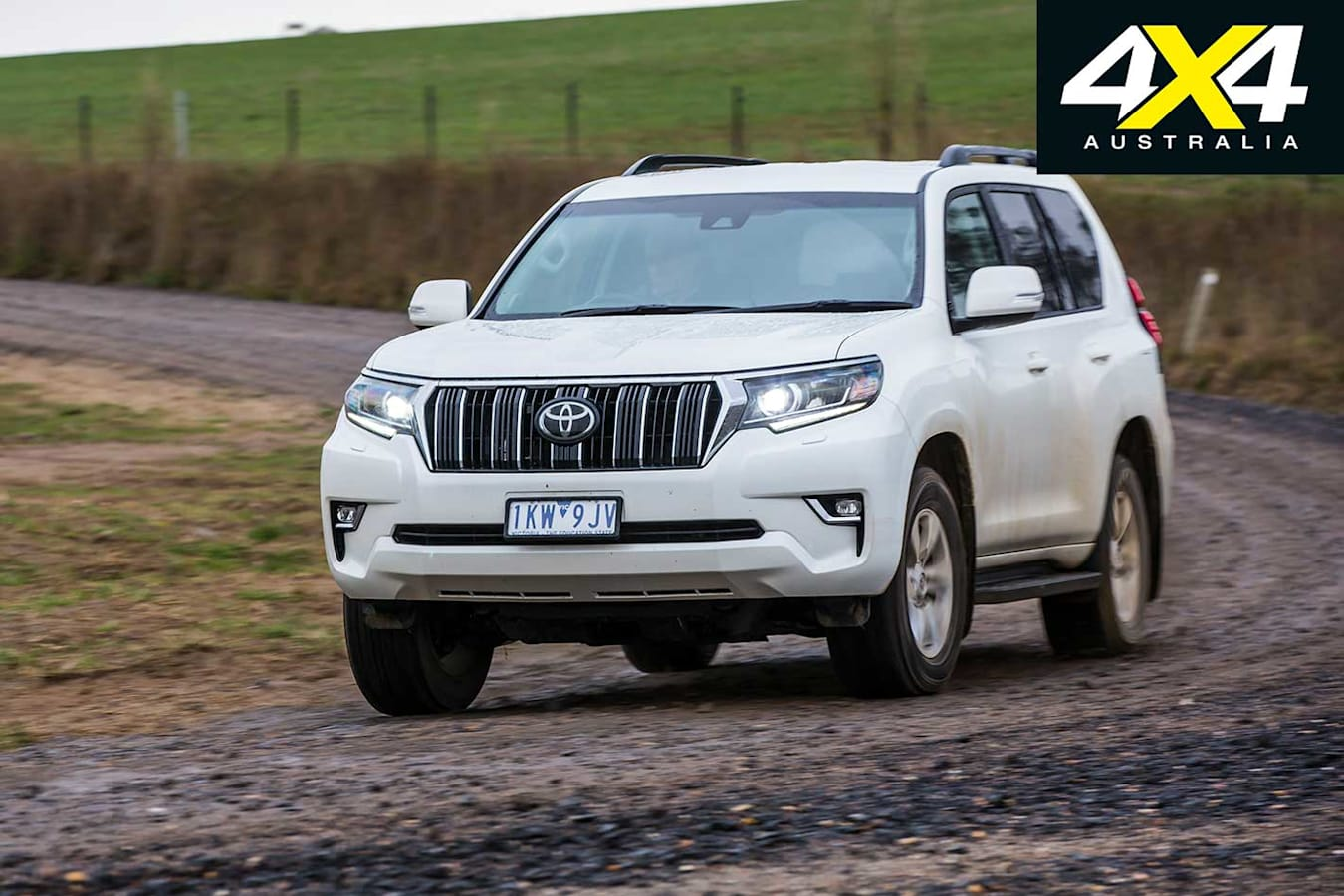 2018 Toyota Prado Handling Front Jpg
