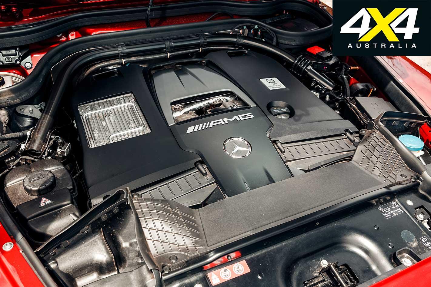 2019 Mercedes AMG G 63 Engine Jpg
