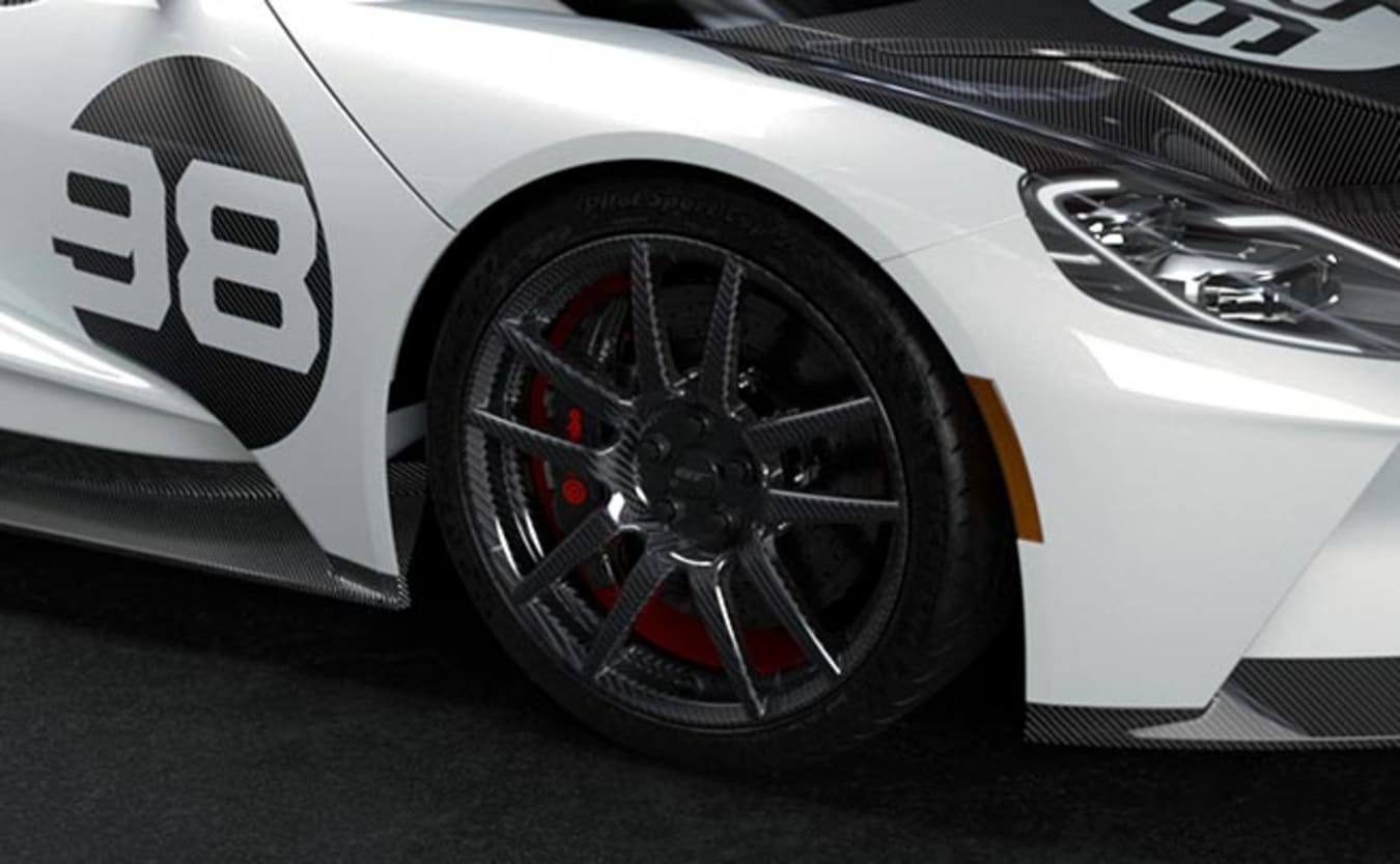 Ford GT Heritage carbon wheels