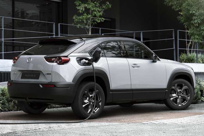 Mazda MX 30 Revealed Charging Port Jpg