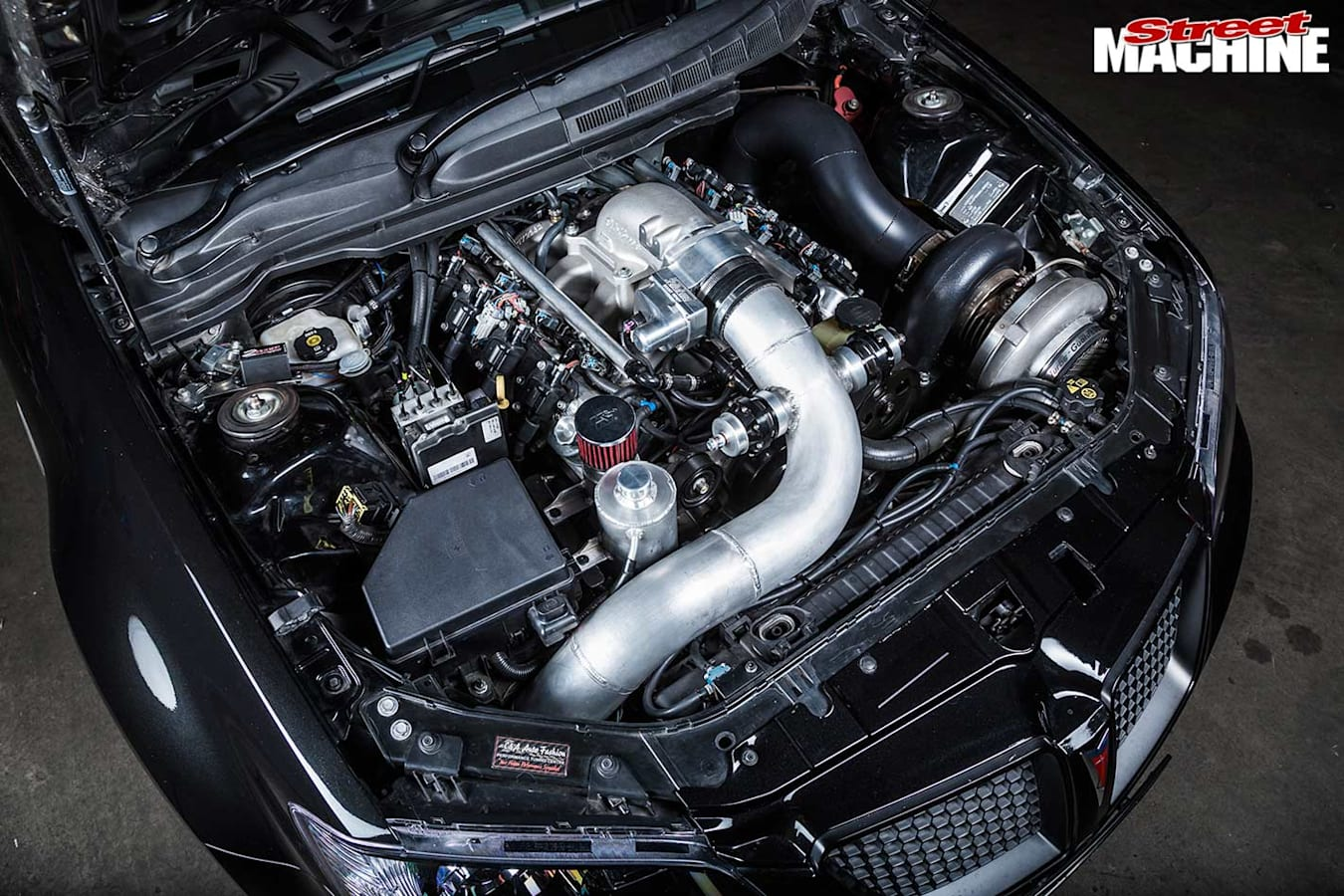 Holden Commodore engine bay