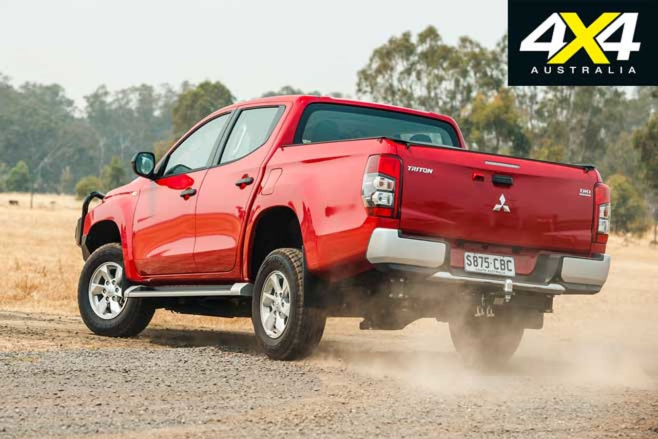 Mitsubishi Triton GLX Long Term Review Handling Jpg