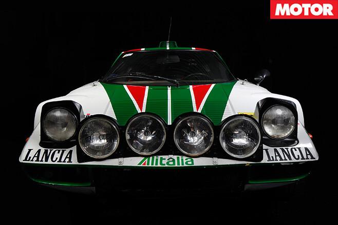 1972 Lancia Stratos front bumper