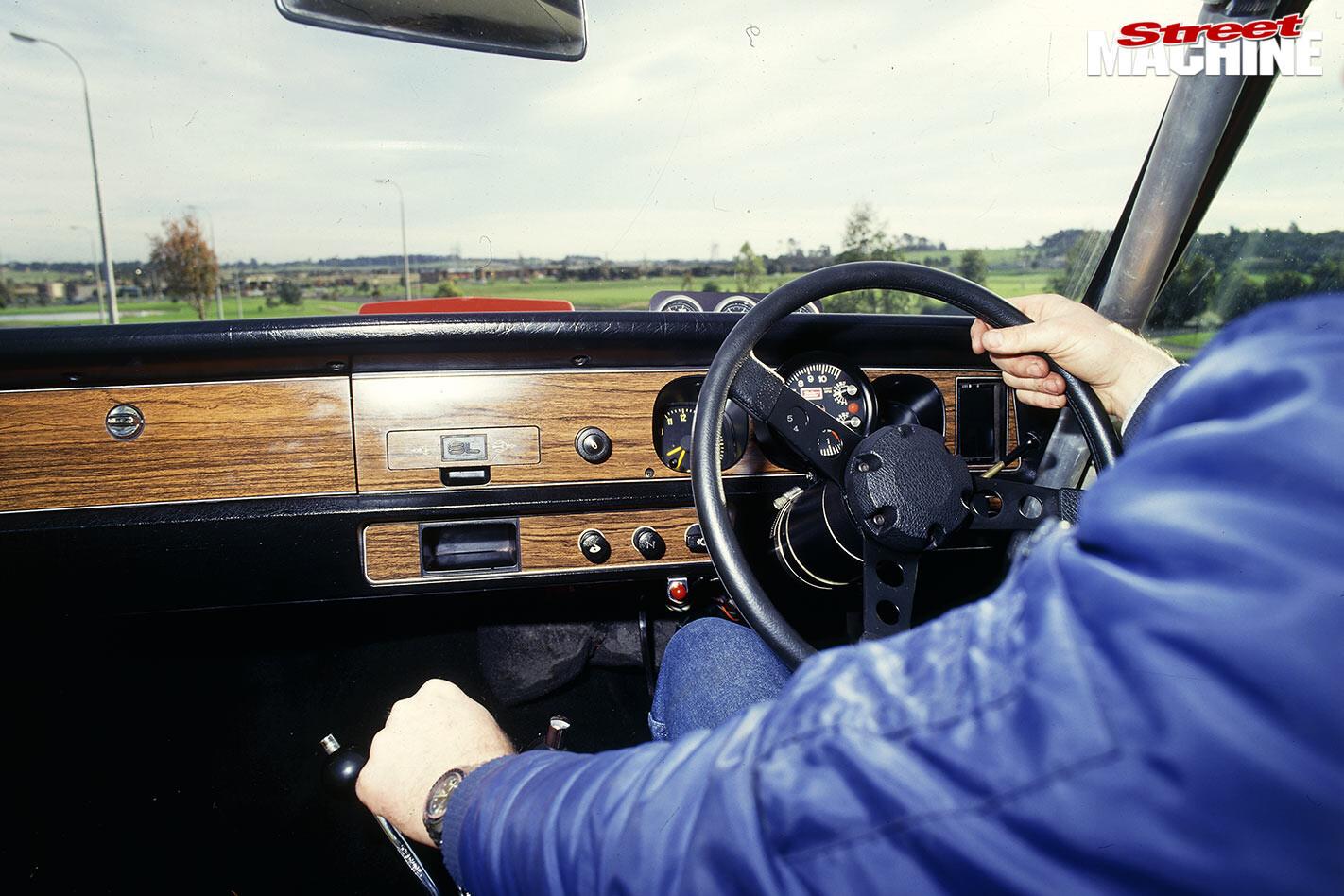 Holden Torana A9X dash