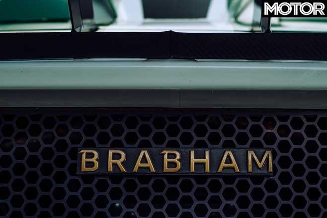 2019 Brabham BT62 badge