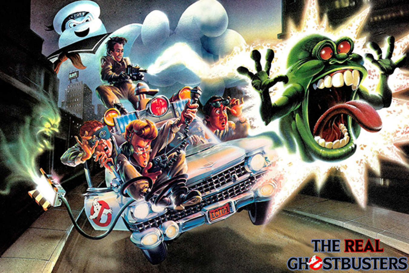 ECTO-1 Car Ghostbusters