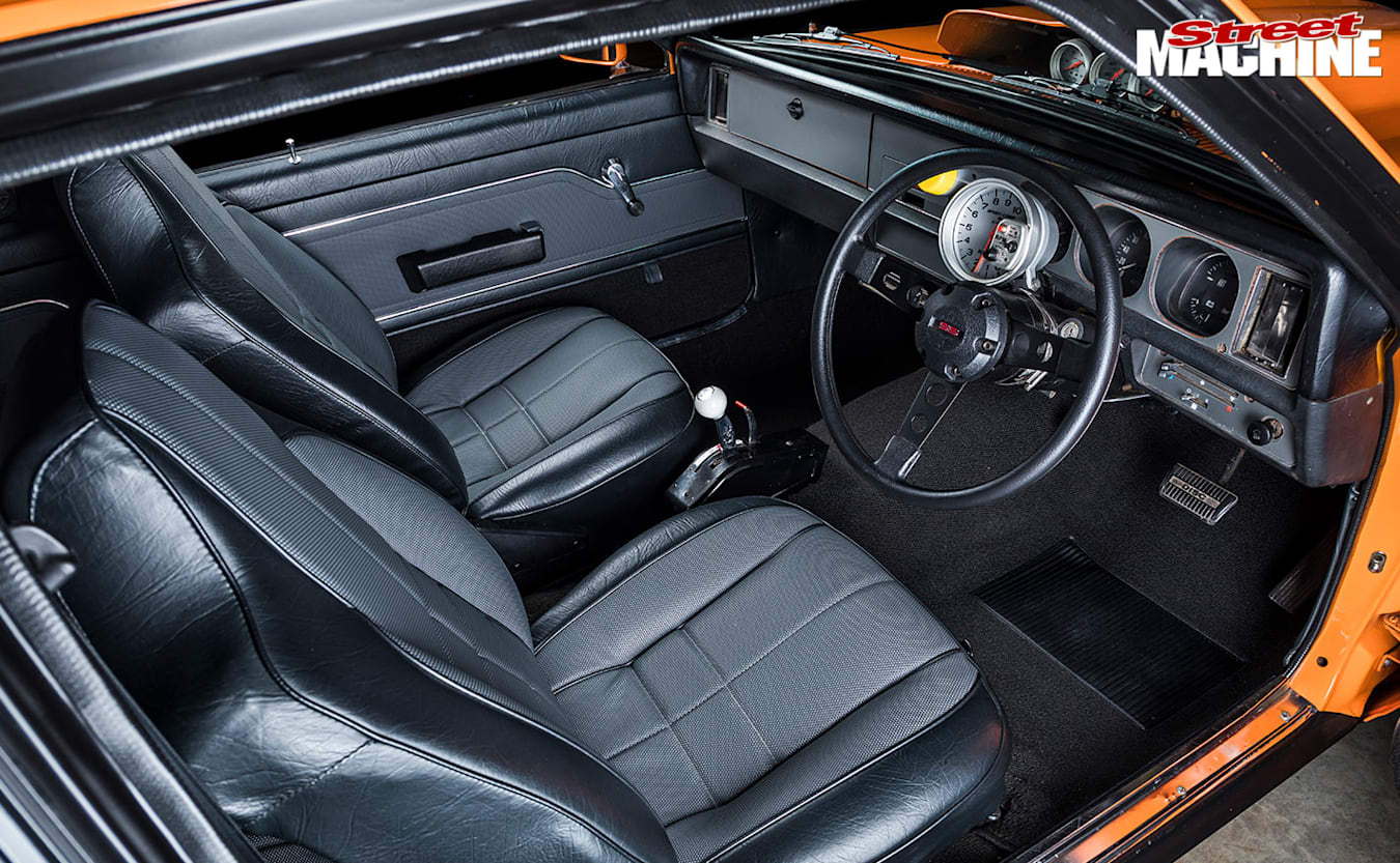Holden LX Torana hatch interior